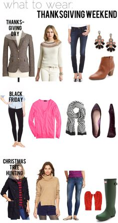 jillgg's good life (for less) | a style blog: what to wear: Thanksgiving!