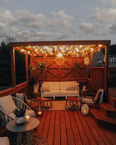 The Happiness of Having Yard Patios – Outdoor Patio Decor Terrace Garden Design, Patio Design, Home Design, Design Ideas, Rooftop Garden, Modern Design, Pergola Designs, Outdoor Fairy Lights, String Lights Outdoor