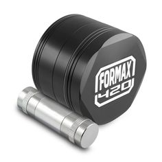 FORMAX420 CNC Metal Hex Herb Grinder 4 Piece 2.5 Inch with Pollen CatchPollen Press Color Black >>> Details can be found by clicking on the image.