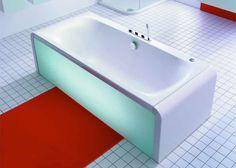 Ideal Standard Moments Rectangular Designer Bath #Bathroom #Lighting