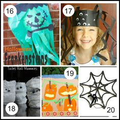 20 Halloween Art Projects for Kids