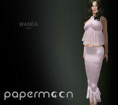 PaperMoon- WANDA Skirt& Top - Pink