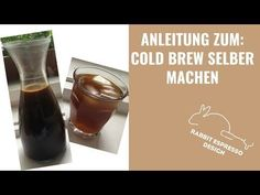 Cold Brew Coffee selber machen, kalt gebrühter Kaffee - wie geht das was ist das? Sommergetränk! - YouTube Youtube, Food, Pour Over Coffee, Coffee Filters, Tiramisu Recipe, Iced Coffee, Black Coffee, Cold, Meals