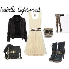 I don't know who Isabelle Lightwood is, but I like her style.<<< *clears throat* Isabelle Sophia lightwood from the mortal instruments sister of Alec lightwood girlfriend of Simon Lewis daughter of Maryse and Robert Lightwood fangirl moment over Isabelle Lightwood, Jace Lightwood, The Mortal Instruments, Pretty Outfits, Cool Outfits, Looks Style, My Style, Mode Rock, Hunter Outfit