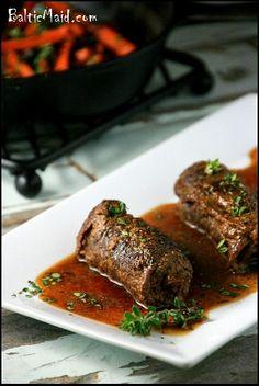 German Beef Rouladen #glutenfree