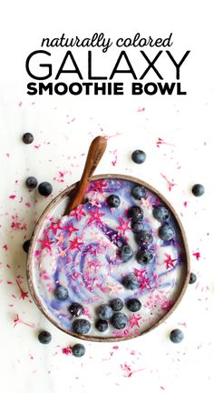 Galaxy Smoothie Bowl (naturally colored)