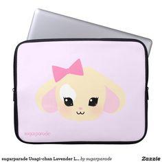 sugarparade Usagi-chan Lavender Laptop Sleeve