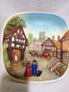 Legends-Product-Chalkware-3D-Chalet-Wall-Plate-Second-One