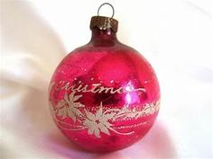 Pink Christmas Ornaments collection on eBay!