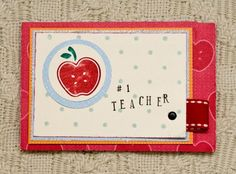 gift card packaging for your teacher