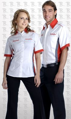 Corporate Shirts, Corporate Uniforms, Staff Uniforms, Work Uniforms, Uniform Shirts, Apron Designs, Shirt Designs, Polo Shirts With Pockets, Waitress Outfit