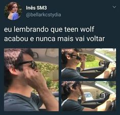 Estou sofrendo!💔 Teen Wolf Memes, Teen Wolf Tumblr, Teen Wolf Scott, Teen Wolf Stiles, Top Memes, Funny Memes, Cenas Teen Wolf, Meninos Teen Wolf, Dylan Obrian