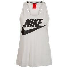 Nike Sportswear Tanktop »Essential« für 27,76€. Nike Sportswear Logo auf der Brust, Tiefer Rundhalsausschnitt, Hohe Strapazierfähigkeit bei OTTO
