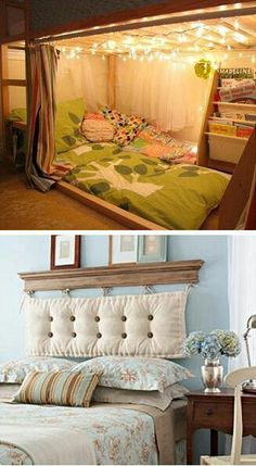 Great alternative to a headboard