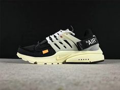 Populaire THE 10 Off White blanc x Nike Air Presto Mens Casual Shoes Black  Noir Black 29df36329