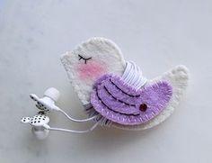 Porta fone de ouvido com molde