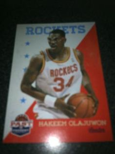 Hakeem Olajuwon Brand New * 2011-12 Past & Present * NBA Basketball Card Houston Rockets Free Ship $2.00