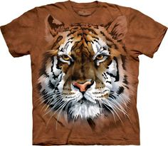 Tee shirt enfant The MOUNTAIN - Tête de tigre
