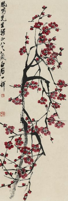 Painted by Qi Baishi (齊白石, 1864-1957). China Online Museum - Chinese Art Galleries