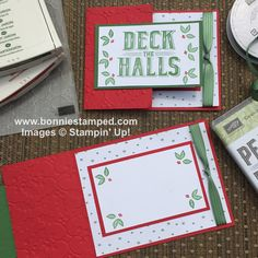 With the early release of the Carols of Christmas Bundle, it only seemed fitting for the Carols of Christmas Stamp Set be featured in Christmas Card Club