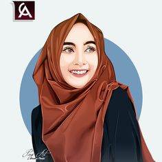 New Digital Art Girl Face Character Design References Ideas Vector Portrait, Digital Portrait, Hijab Drawing, Drawing Art, Fashion Illustration Face, Drawing Cartoon Faces, Digital Art Girl, Girl Sketch, Face Characters