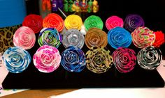 Duct Tape adjustable flower ring Available in by DuctTapeCouple, $6.99