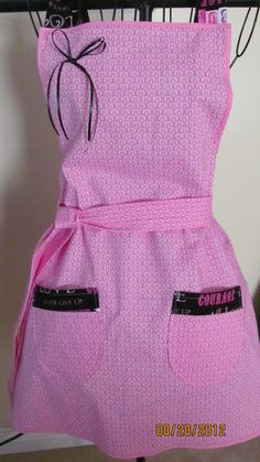 Breast Cancer Awareness Gift - Pink Apron
