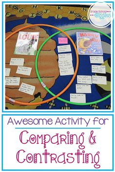 Comparing and contrasting can be a tricky skill. It seems like a simple reading skill, but it trips up a lot of kids. Often kids understand what same and…