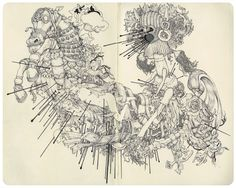 Intricate Sketches of James Jean