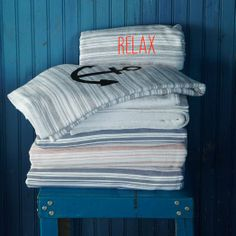 Spa striped towels