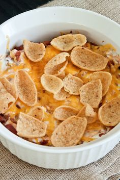 Oven-Baked Frito Pie. @Michelle Hadley this is SOOOOO up your alley!!!!!