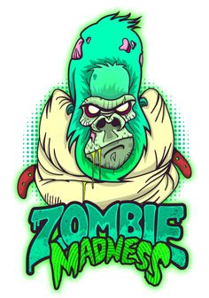 Zombie Madness on Behance