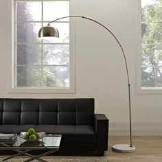 Modway Sunflower Round Floor Lamp in White Round Floor Lamp, Floor Lamp Bedroom, Flooring, Modern Light Fixtures, Lamp, Arco Floor Lamp, Cool Floor Lamps, Living Room Flooring, Lamps Living Room