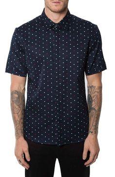 7 Diamonds 'Sugar Boat' Short Sleeve Print Woven Shirt