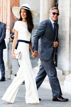 George Clooney and Amal Alamuddin's Wedding Weekend in Pictures | Harper's Bazaar