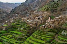 Berber Village Atlas Mountains