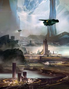 ArtStation - On the Razor's Edge by Michael Flynn, sparth - nicolas bouvier