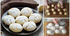So zart, so fein, so lecker! Diese zarten Zitronenkekse sind ein echtes Highlight auf dem Kaffeetisch. Sweet Cookies, Hamburger, Bakery, Muffin, Bread, Breakfast, Desserts, Recipes, Food