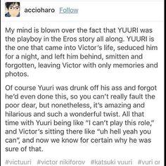 The ballroom scene changed everything. Yuri!!! On Ice Yuri, Viktor