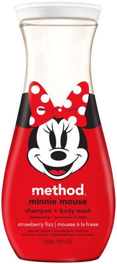 Method Minnie Mouse Body Wash, Strawberry.   LOVE the Method Mickey Mouse Body Wash too...smells like lemonade!