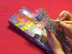 """♥ How To Make """"The Triple"""" Band Bracelet With the Rainbow Loom ♥"""