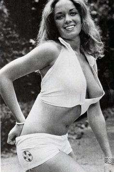 Catherine bach side boob