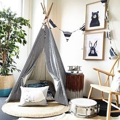 May the dream guardians look after your imagination tonight ✨ Big thanks to @advantagepropertystyling for this beautiful pic of our Messy Bear and Messy Hare prints. Check out the whole Messy Collection at www.onetinytribe.com ✌