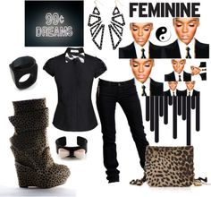 """""""Something a Monae Would Rock"""" by bettyboopbbw69 on Polyvore"""