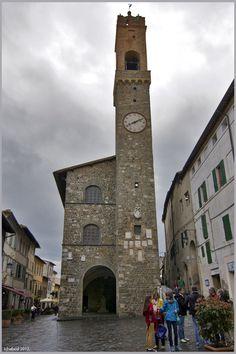 Montalcino Torre -Siena, Italy
