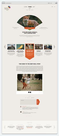 World Around You by SmartHeart Advertising, via Behance