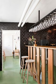 """Mikkeller Bar, Copenhagen. A beer lover's mecca serving locally brewed beers in a minimalist, not so """"manly"""" bar. Sounds perfect! Voted the best bar in Copenhagen by the Danish newspaper Politiken in 2012."""