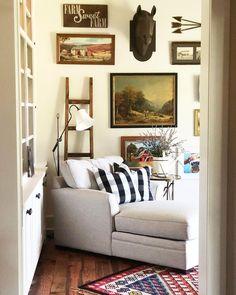 Gallery Wall, Ladder Decor, Adventure, Rustic Farmhouse, Instagram, Home Decor, Notebook, Videos, Photos