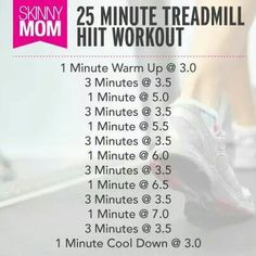 25 Minute HIIT Treadmill Workout