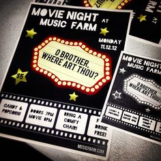 Movie Night Poster | by annahopkins